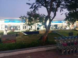 The Rajkot Airport - Morning hours