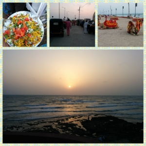 Life at Sunset Point in Dwarka
