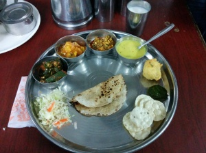 The Gujarati Thali in Dwarka