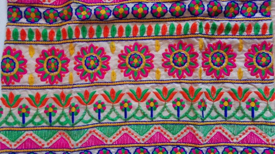 Jetpur Dress fabric design