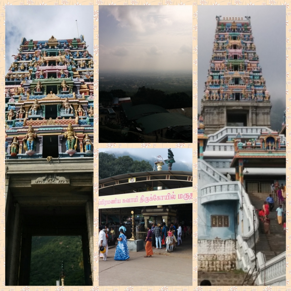 Marudhamalai temple in the western ghats and Views of Coimbatore