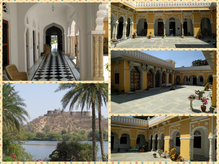 Devisree Deogarh, Mosaic corridor, The Haveli