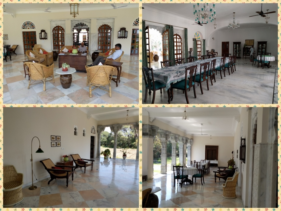 The Lounge, Dining area and luxurious seating