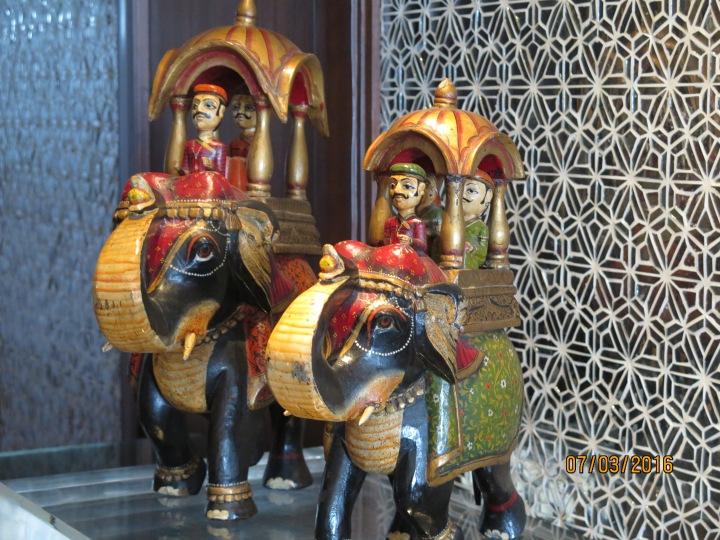 Royalty on an elephant