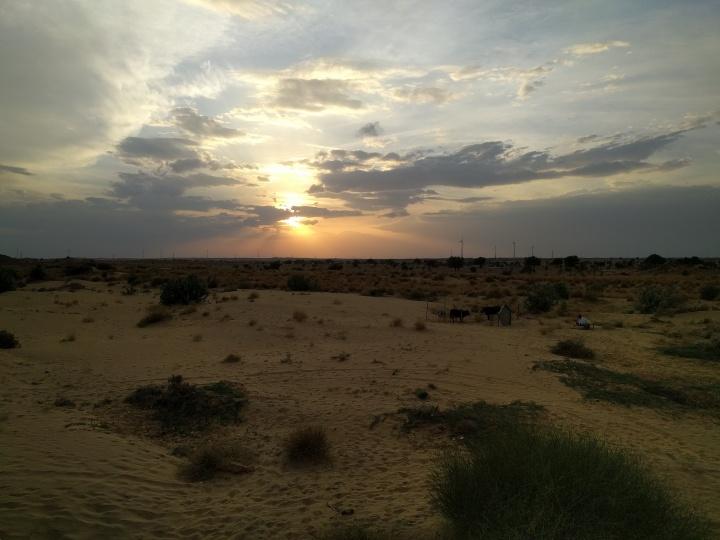 Sunset from Damodra
