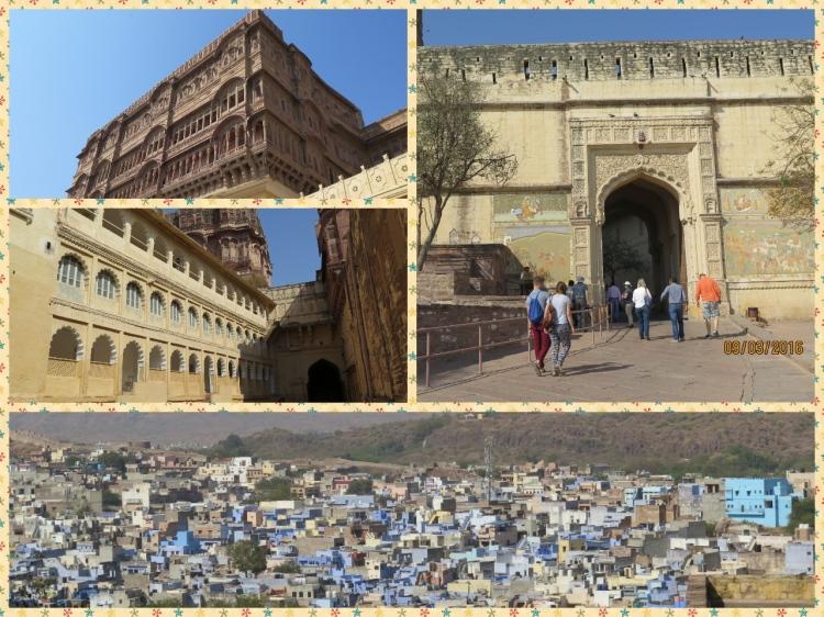 Jodhpur from above Mehrangarh fort