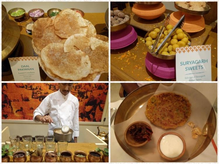 Parathas, Dal pakwan, Sweets and a masala tea making session