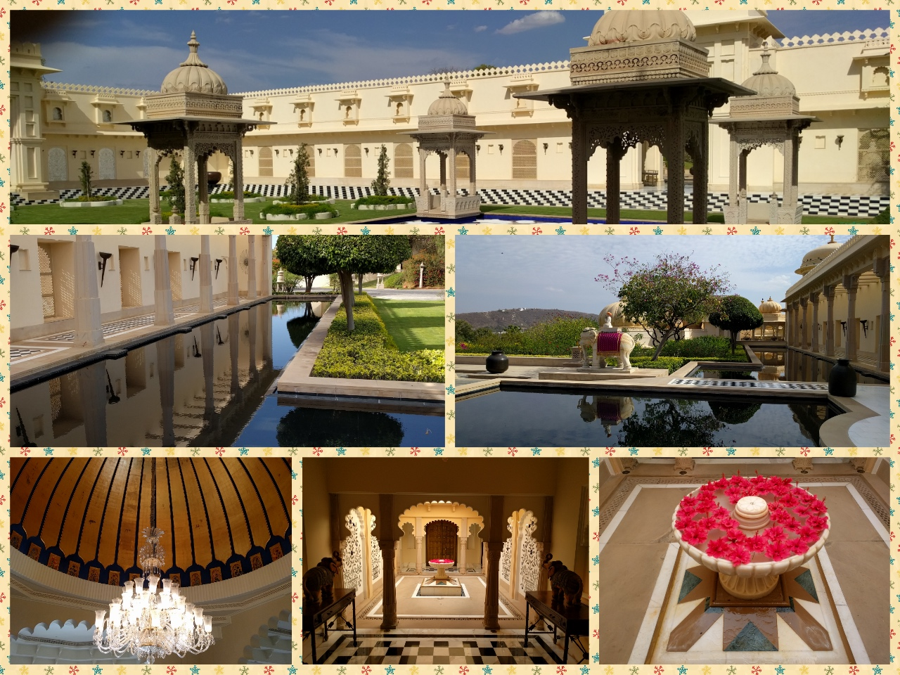 Palace Hotel, Corridors, Domes