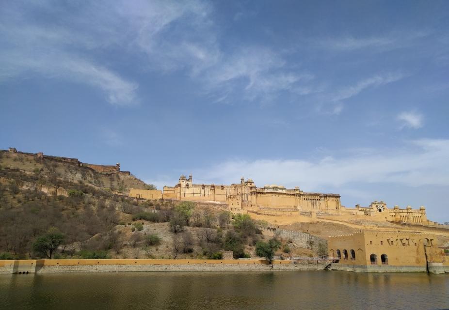 Amer Fort and Maota Lake