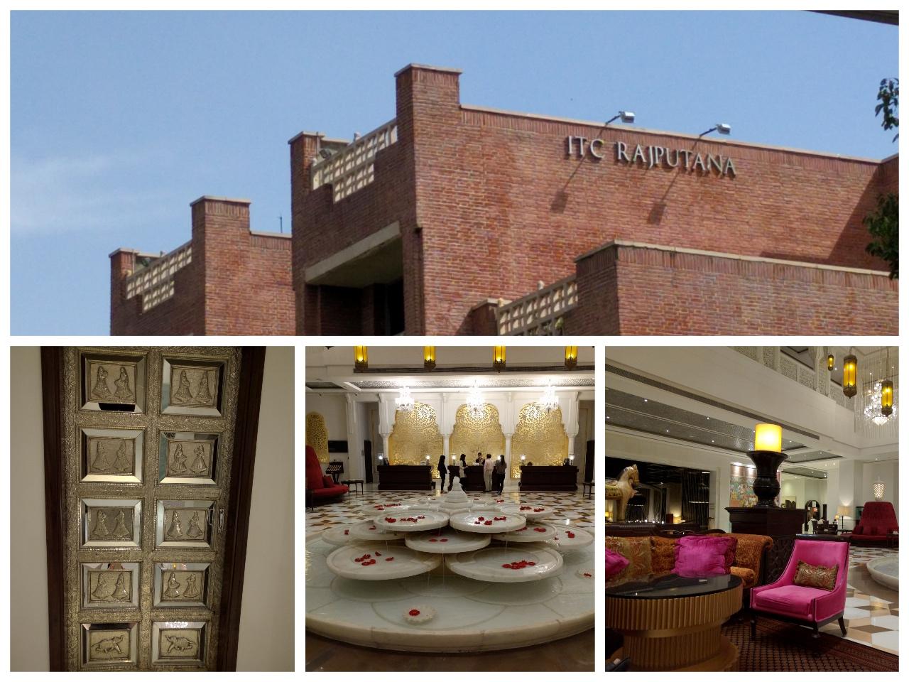 ITC Rajputana building, Silver door, Reception area and Lobby