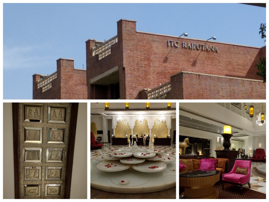ITC Rajputana building, Silver door, Reception area and Lobby