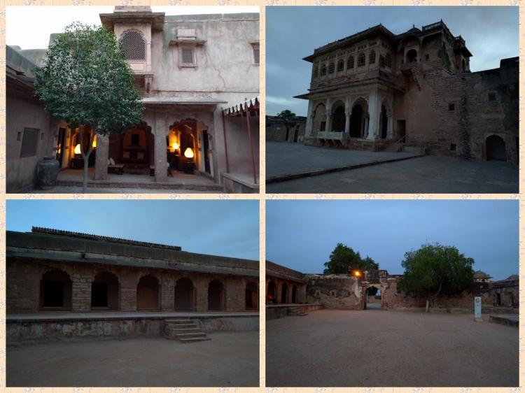 Structures within the Haveli area