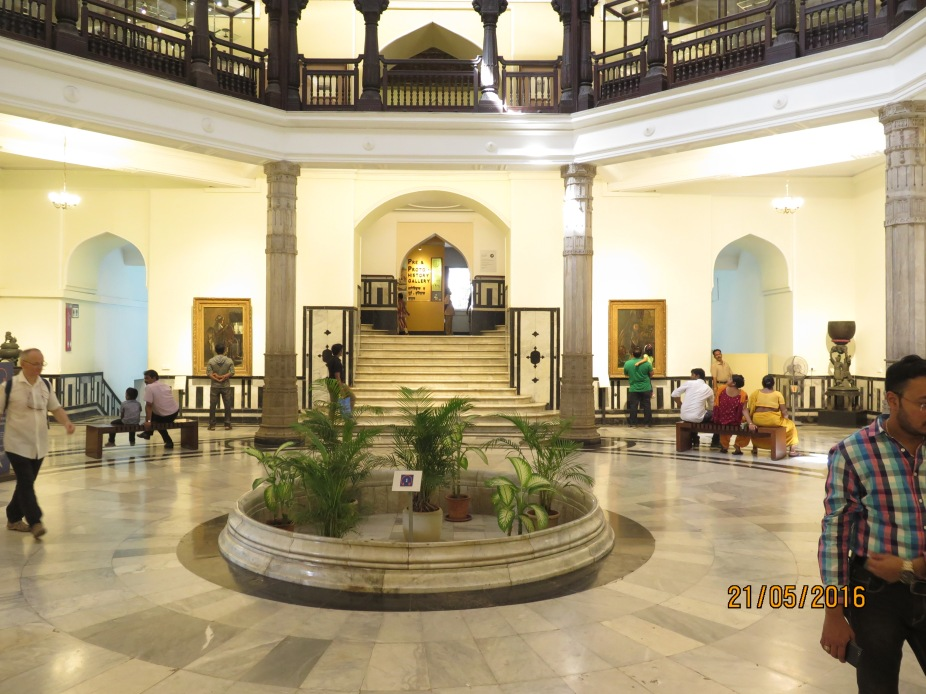 Lobby of the Mumbai Museum