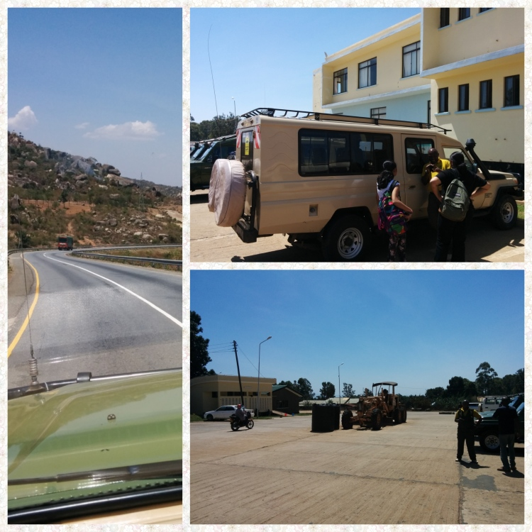 Isabania border crossing. Tanzanian immigration building
