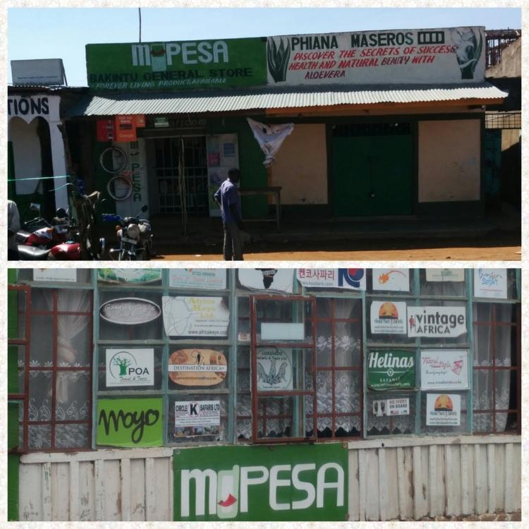 M-Pesa shops across East Africa