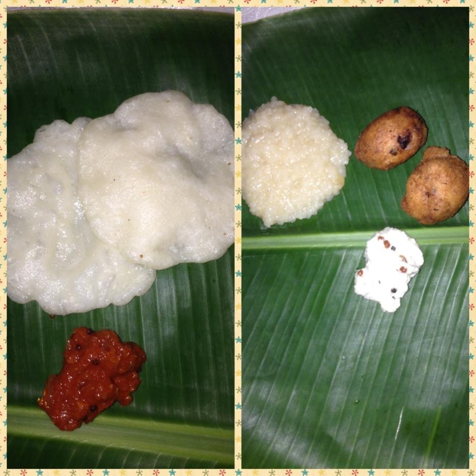 Masala Seeyam, Sweet Pongal, Vellai paniyaram