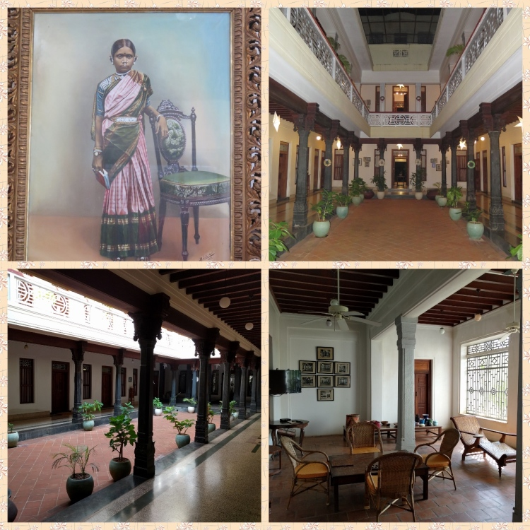 Visalam who lends her name to the property, the courtyard and the sitout