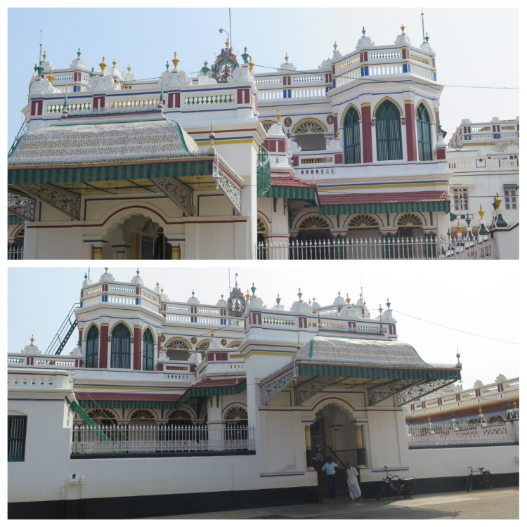 The Raja's Palace front view