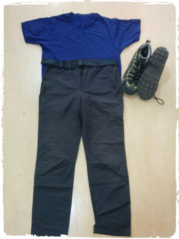 Clothing for the Yatra on the indian stretch
