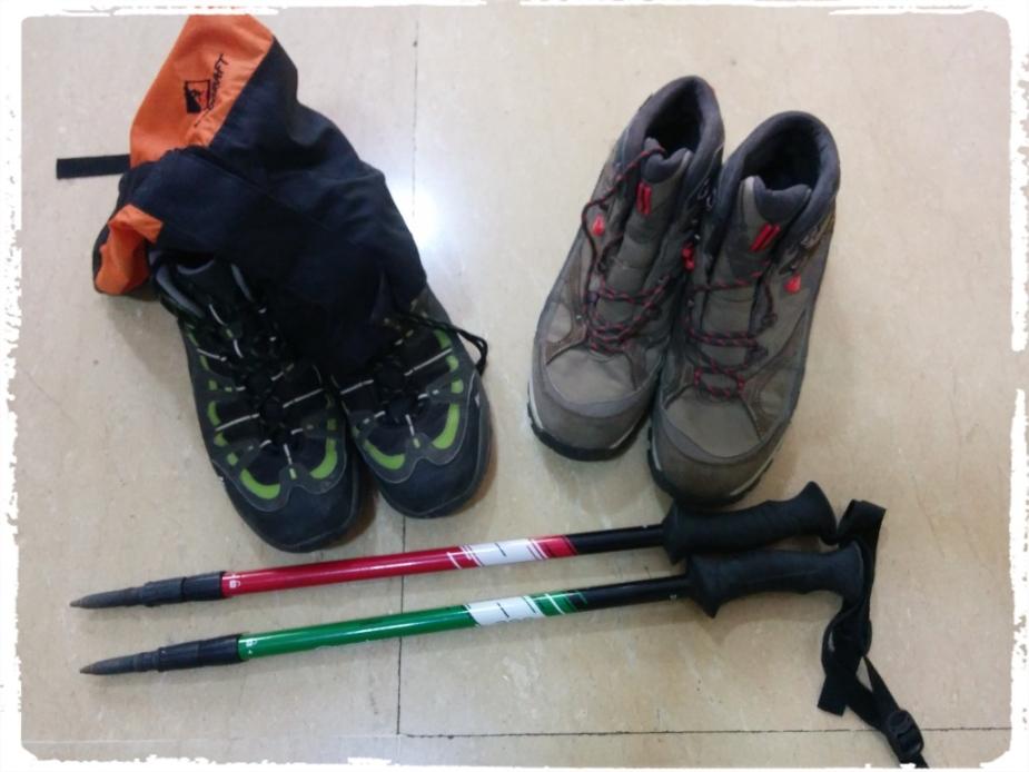 Footwear and walking