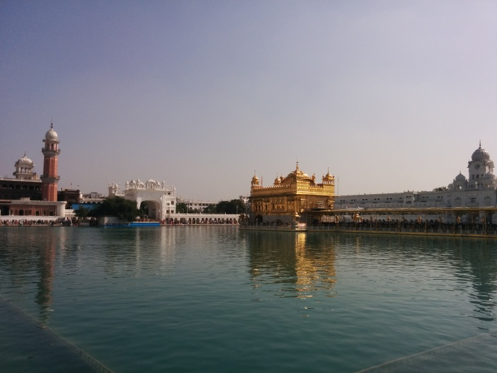 View of The Golden Temple and the Amrit Sarovar