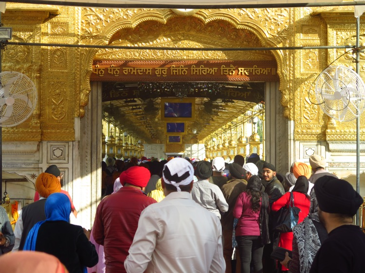 Entrance to the Golden Temple Pathway