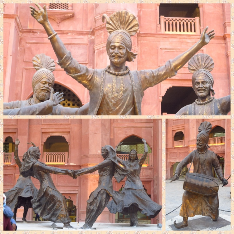 Bhangra and Gidda performers