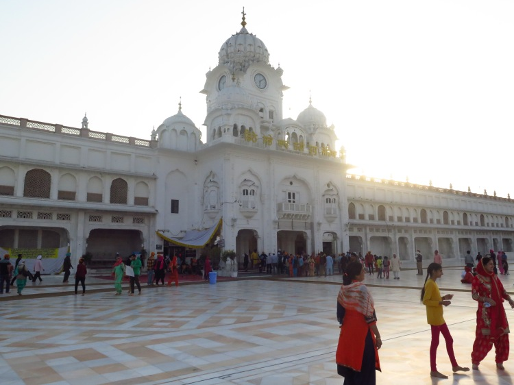 Chowk Ghanta Ghar (Clock Tower) entrance to the Darbar Sahib / Golden Temple