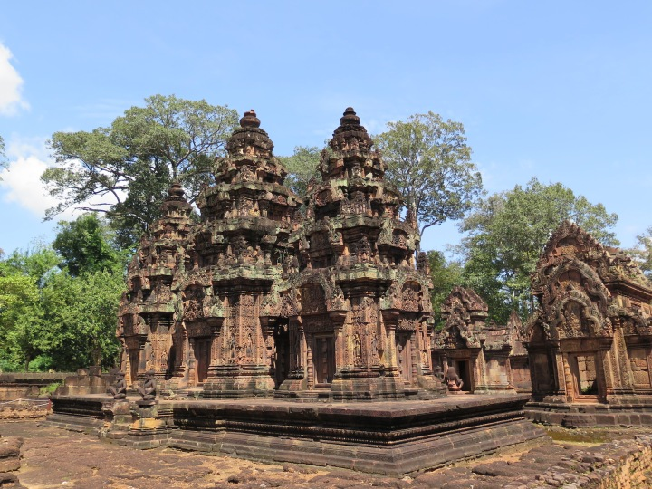 THe Banteay Srei Temple