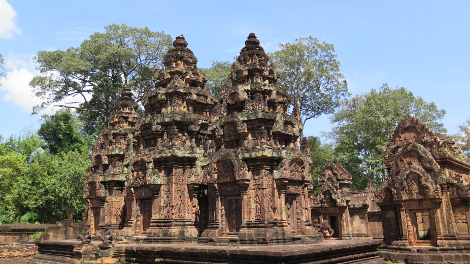 THe Banteay Srei Temple