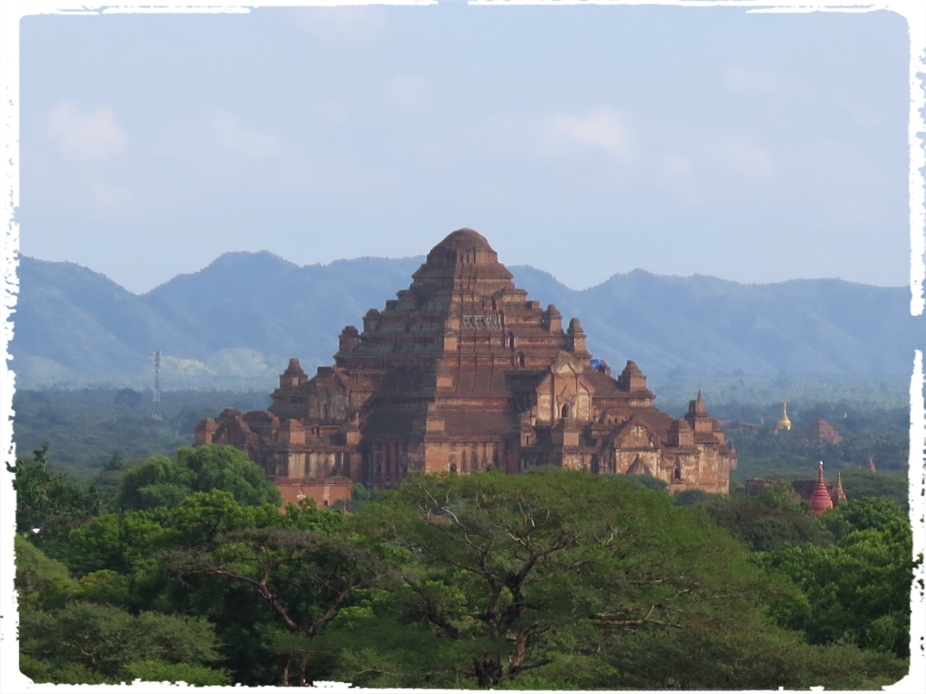 The Dhammayangyi (or Dhamma-yan-gyi) Pahto, extending approximately 255 feet (78 m) on each of its four sides, is Bagan's most massive shrine. As much as it is huge in its appearance, there is still considerable amount of controversy regarding the identity of its builder. Ghastly events are said to have been inflicted on its alleged builder who didnt exactly lead a life of virtue (Courtesy - www.orientalarchitecture.com)