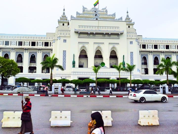 The City Hall Building of Yangon