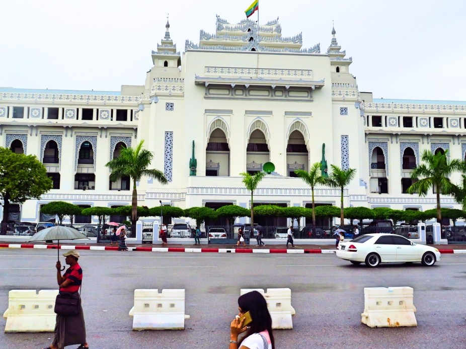 The City Hall Building of Yangon