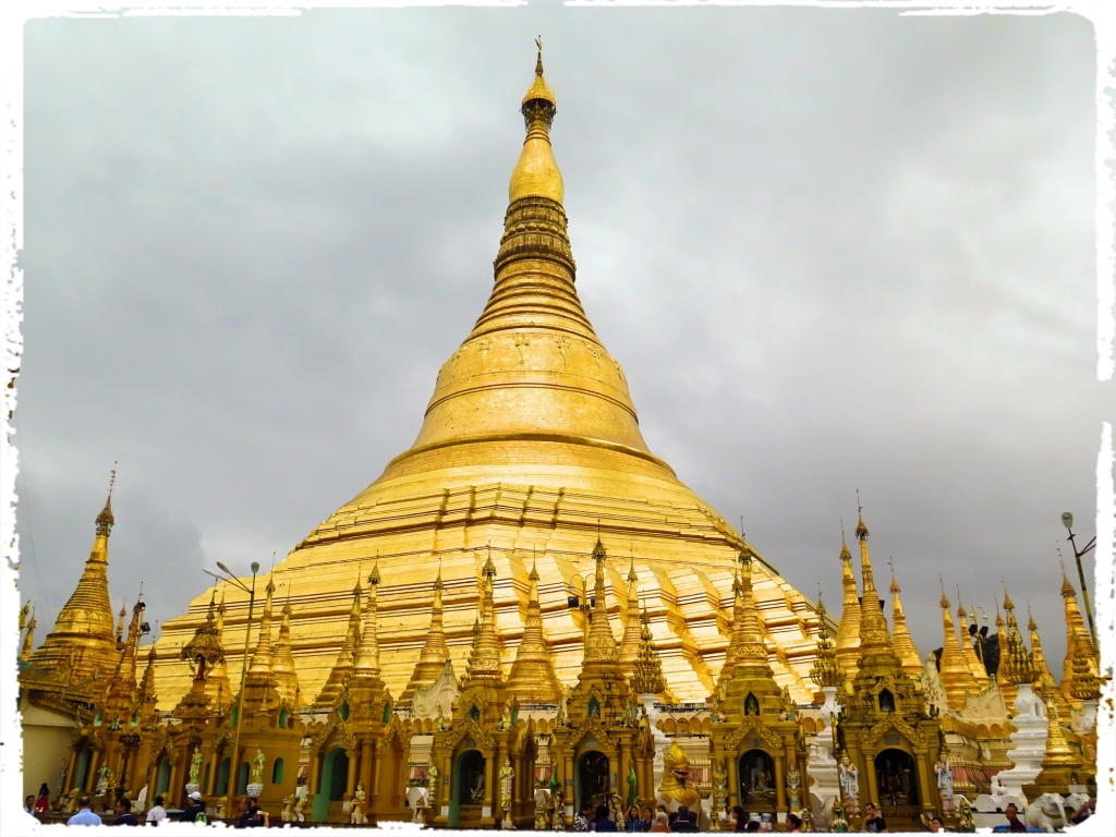 The Shwedagon pagoda