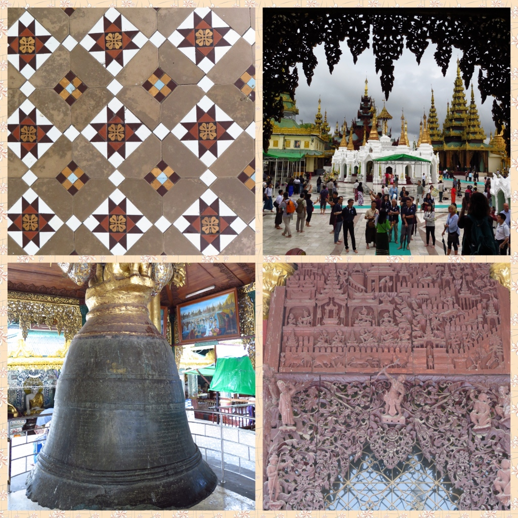 Shwedagon complex and the singu Min Bell
