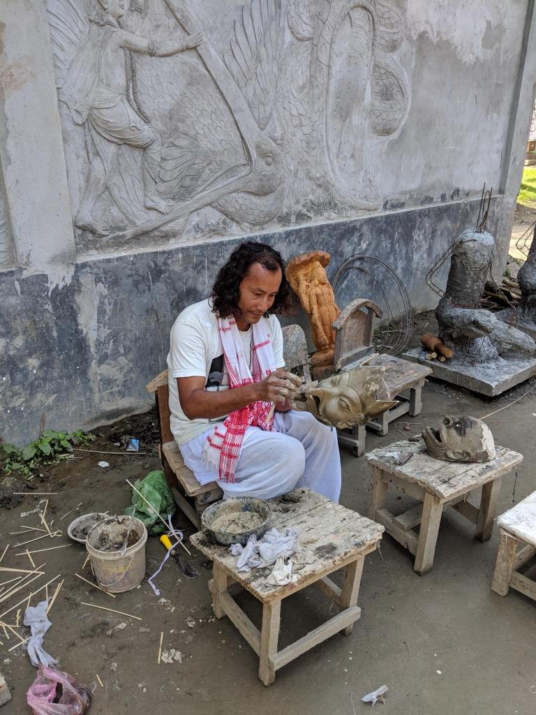 Artist of the Samaguri Satra