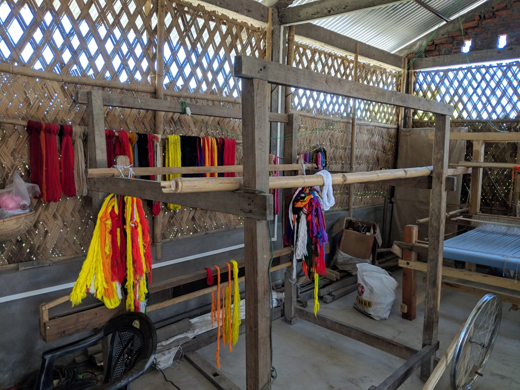 Weaving centre