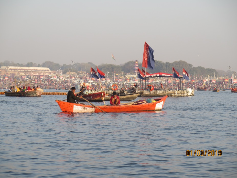 There was adequate police presence on the waters and the invisible eye to watch over the crowds