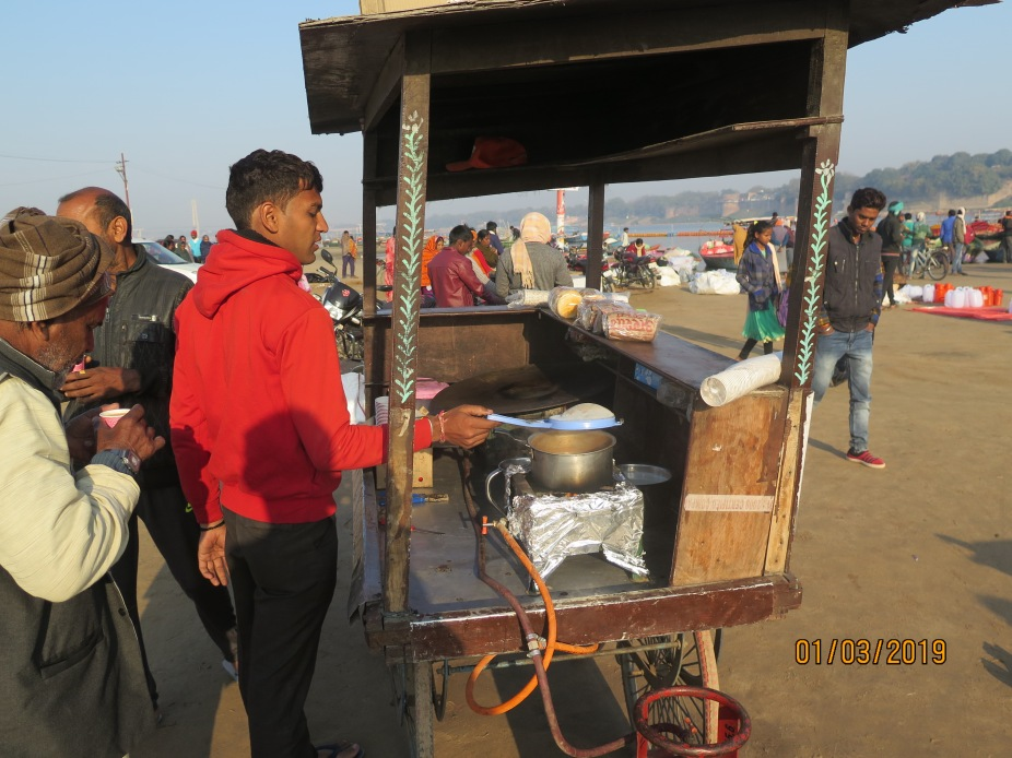 Tea seller cart